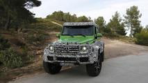 Mercedes G63 AMG 4x4 Green Monster spy photo