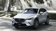 2016 Mazda CX-3 gets detailed