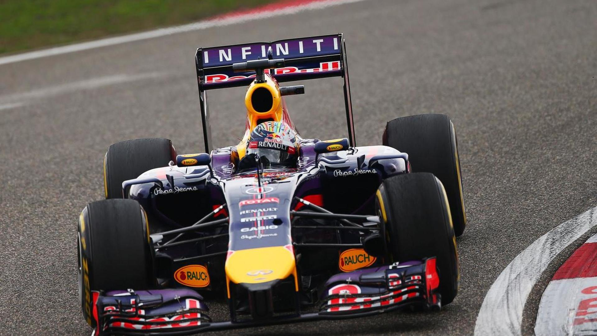 Red Bull plays down Vettel's chassis change