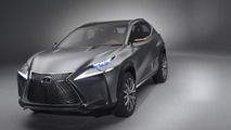 Lexus LF-NX crossover concept bows in Frankfurt [videos]