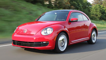 Volkswagen Beetle 1.8T priced from 20,295 USD, convertible from 25,170 USD