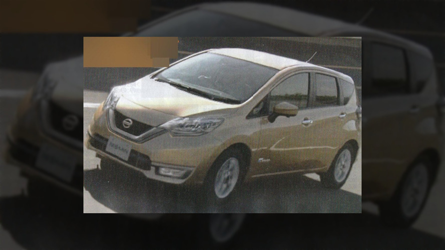 2017 Nissan Note facelift leaks, hybrid model in Japan