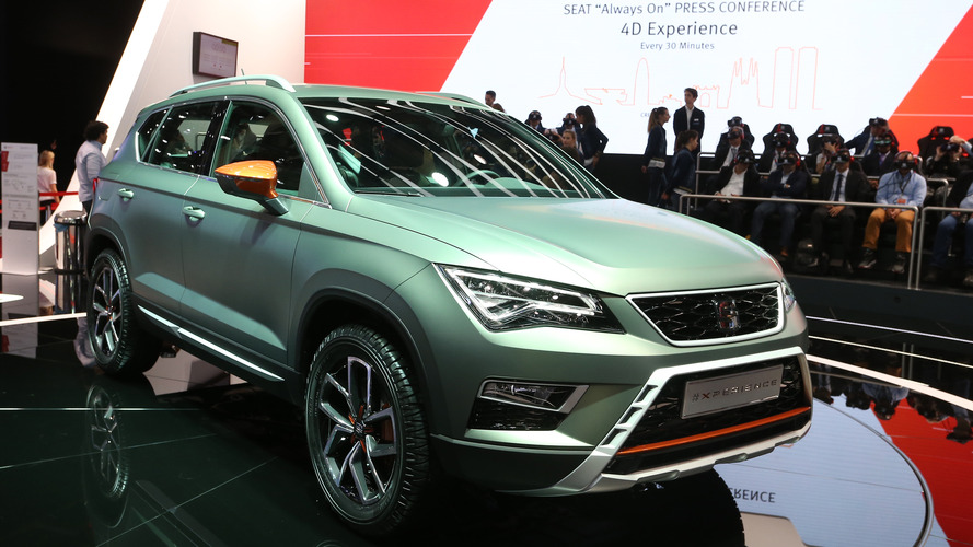 Seat Ateca X-Perience exhibits its adventurous side in Paris