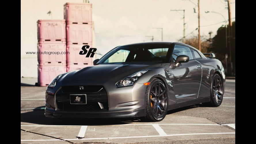 SR Auto Group Nissan GT-R Gold