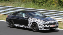 2012 BMW M6 Cabrio spied with less camo