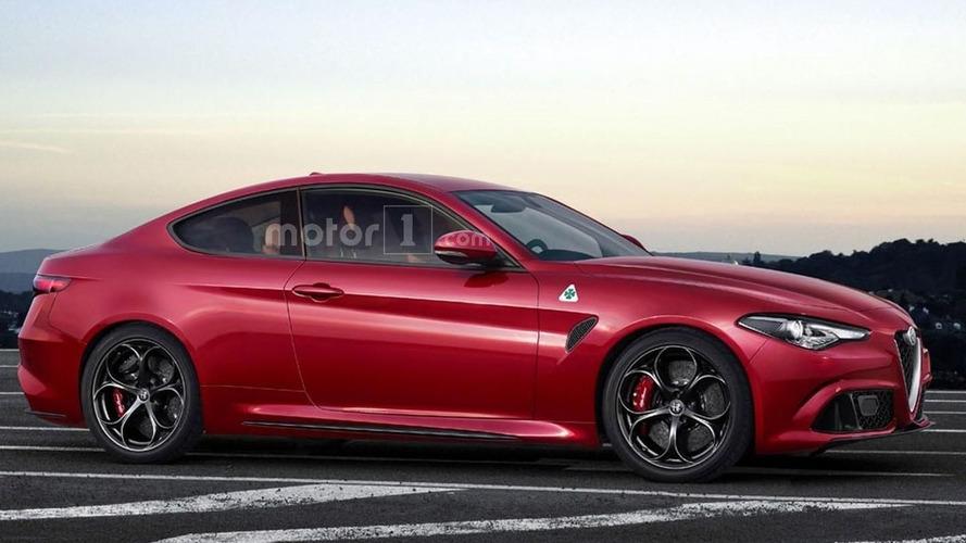 Alfa Romeo Giulia Coupé estreia em março no Salão de Genebra