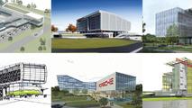 Porsche previews new U.S. headquarters - will include a test track