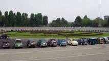 Fiat 500 Topolinos Celebrates 70th Birthday