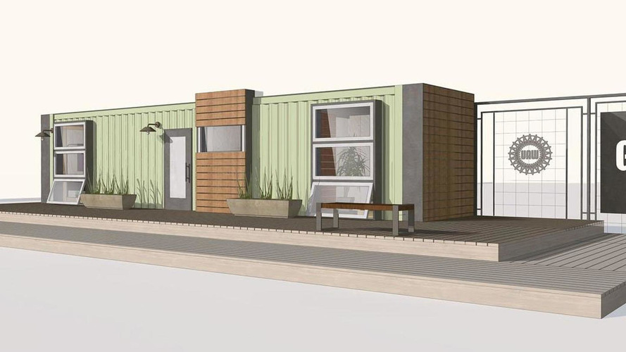 GM turning a shipping container into a house
