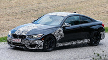 2014 BMW M4 Coupe & Convertible spied with less disguise