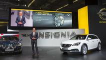 Opel Insignia / Insignia Country Tourer live in Frankfurt 11.9.2013