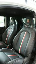 Abarth 500 Competitizione Limited Edition surfaces