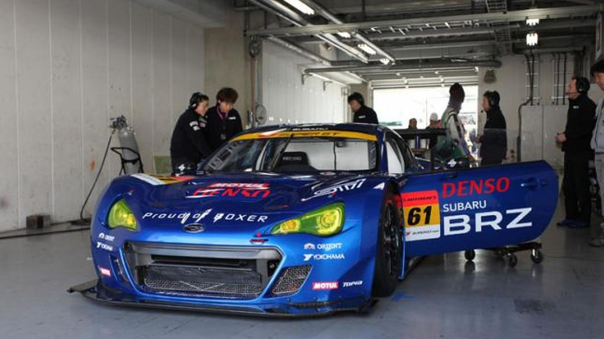 Subaru BRZ GT300 completes first test in Japan