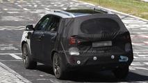 Kia Sorento facelift spied up on two wheels at Nurburgring