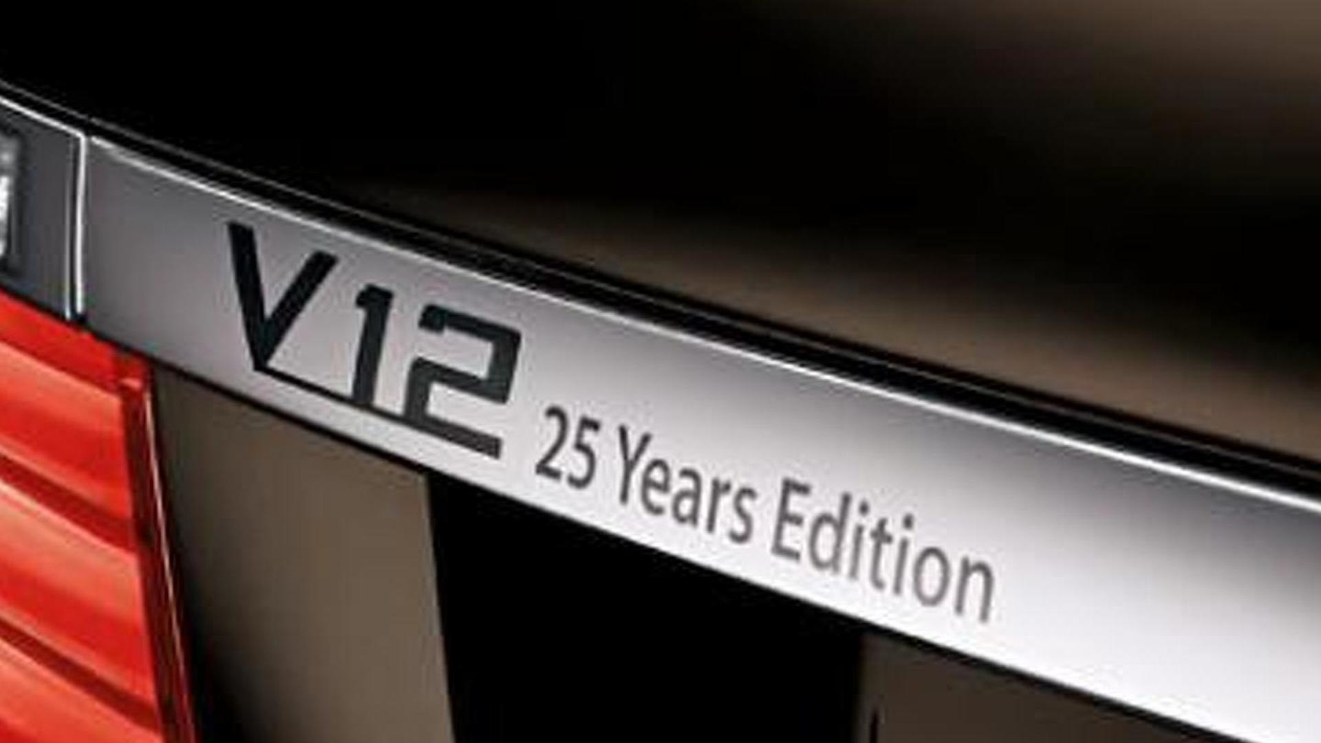 2013 BMW 760Li V-12 25 Years Anniversary Edition announced (US)
