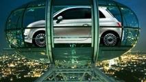 New Fiat 500 Aboard BA's London Eye