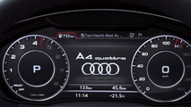 2016 Audi A4's virtual cockpit demonstrated in new promo video