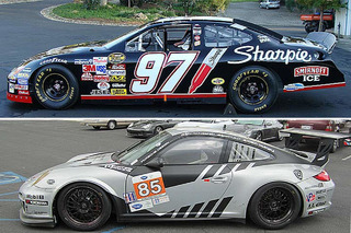 Patrick Dempsey's Porsche or Kurt Busch's Ford: Which Would You Buy?
