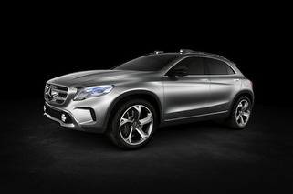 Mercedes-Benz GLA Crossover Concept Leaks Out Early