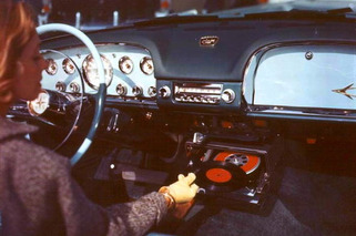 Weird Automotive Gadgets: When Cars had Record Players