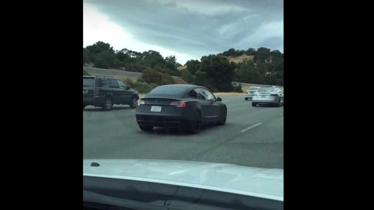 Tesla Model 3 spy photo