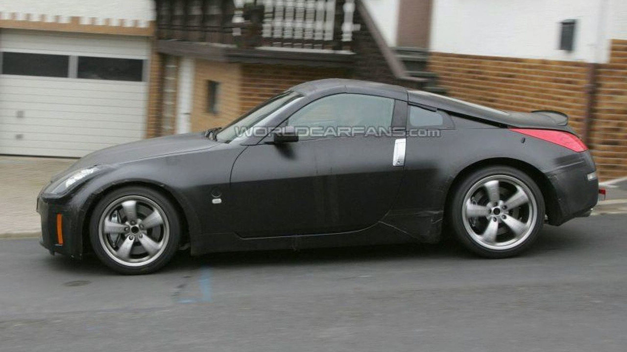 Next generation Nissan 350Z mule