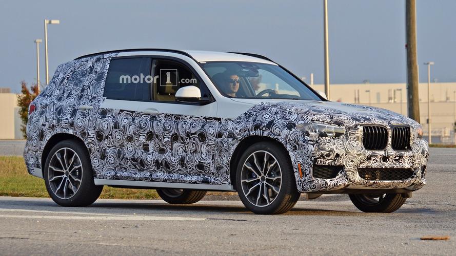 2018 BMW X3 looks familiar, but slightly bigger