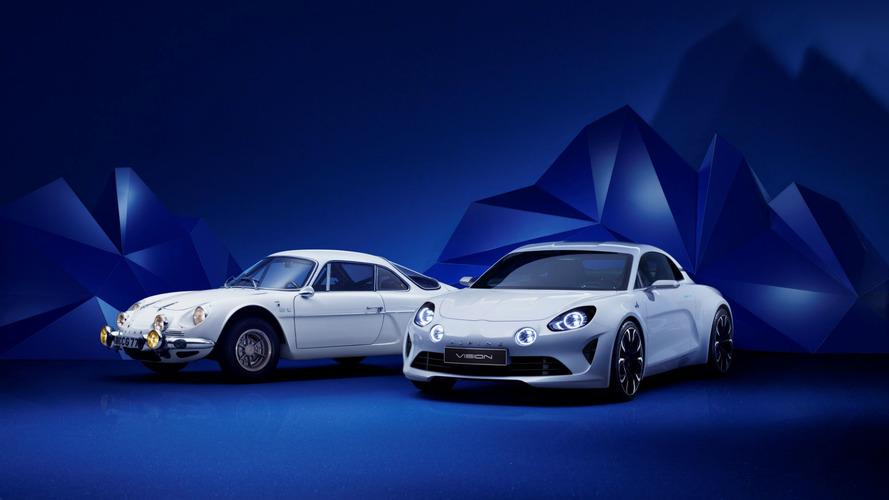 Alpine - De l'A106 au concept Vision, 7 modèles exposés à Rétromobile
