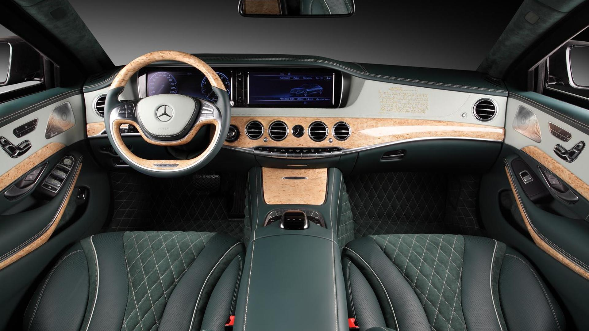 2014 mercedes benz s600 guard interior cabin tweaked by topcar for Mercedes benz s600 2014