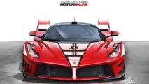 Ferrari LaFerrari XX renderings show a future flagship supercar