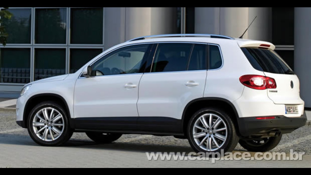 Volkswagen Tiguan será lançado oficialmente no Brasil no fim deste mês