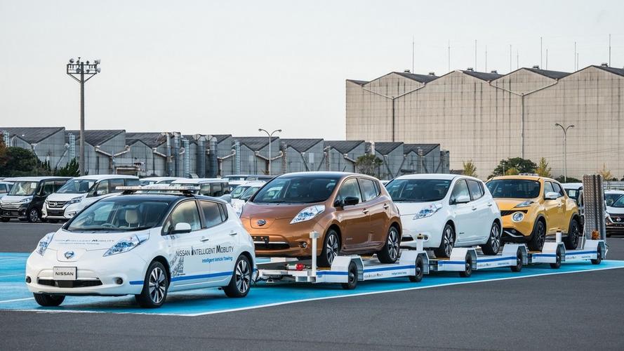 Carro autônomo começa a ser usado dentro de fábrica da Nissan