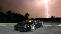 Lamborghini Murcielago Roadster with ADV.1 wheels, 1024, 23.12.2011