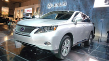 Lexus RX450h at 2008 Los Angeles Motor Show