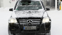 Mercedes GLK Caught with LED Daytime Running Lights