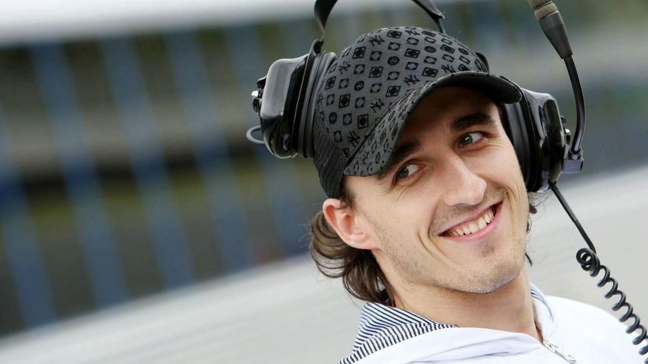 Robert Kubica (POL) - Formula 1 Testing, Jerez