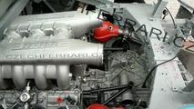 Ferrari F450 Mule Caught Undisguised and Immobilized