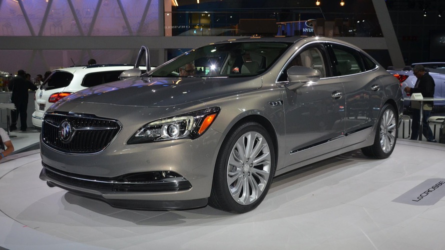 2017 Buick LaCrosse arrives in LA with 305 hp