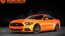 Vortech previews their 640 bhp Mustang for SEMA