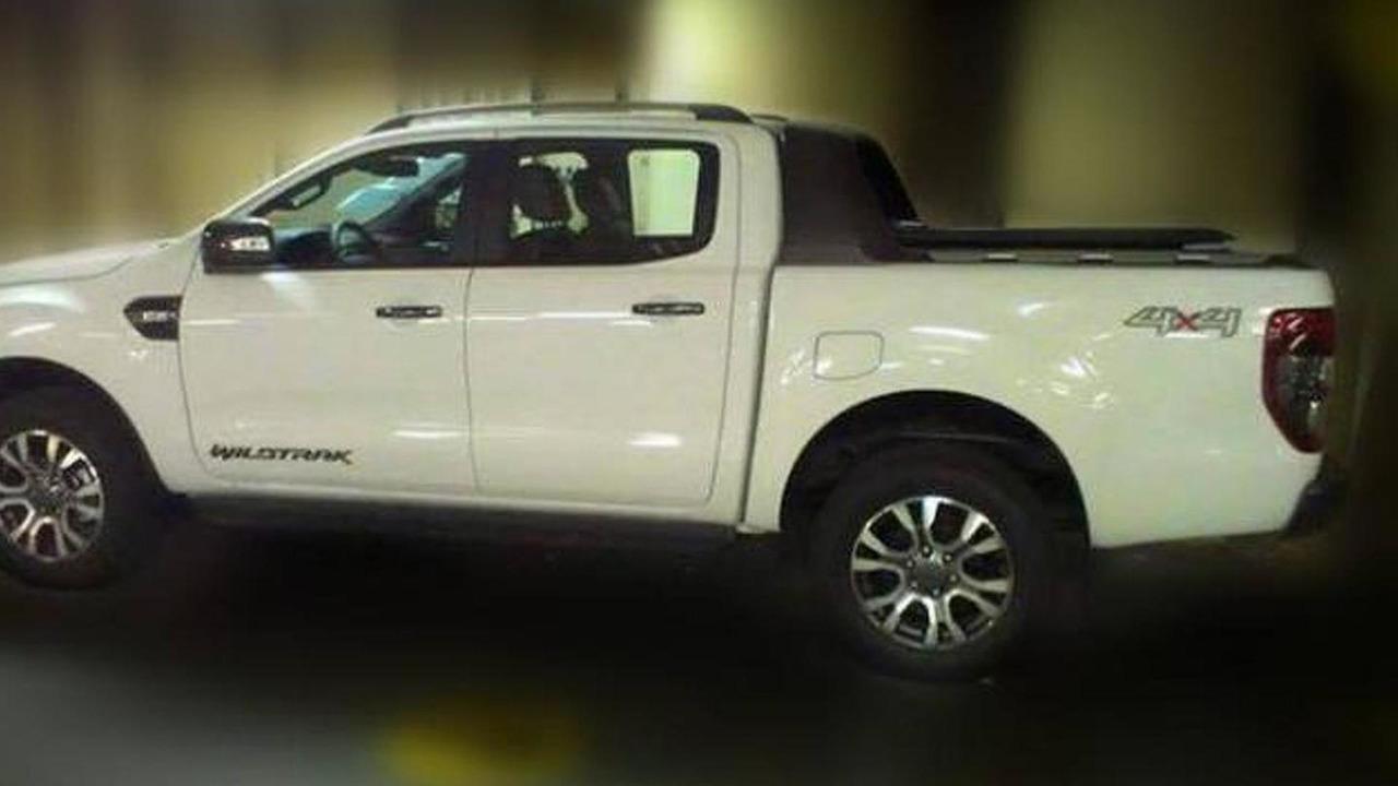 2015 Ford Ranger Wildtrak spy photo