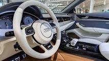 Audi S8 facelift in Ipanema Brown Metallic