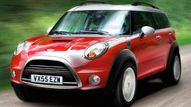 MINI SUV compter rendering