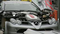 Mercedes-Benz McLaren SLR 722 GT Spied On The 'Ring