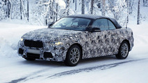 2014 BMW 2-Series Coupe & Convertible spied in the snow