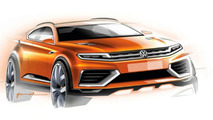 Volkswagen CrossBlue Coupe Concept breaks cover ahead of Auto Shanghai arrival