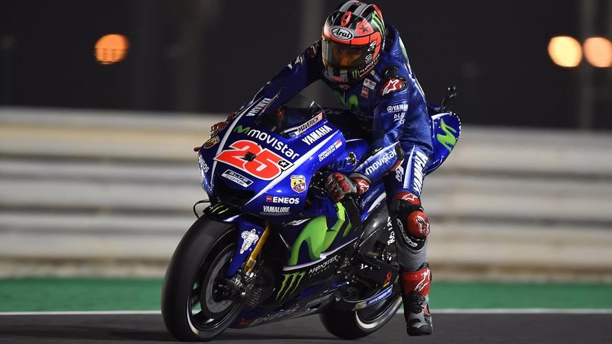 Estreando pela Yamaha, Viñales vence no Catar; Rossi é 3º
