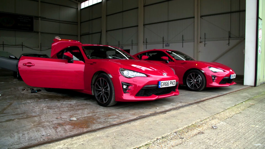 Toyota GT86 takes over as Top Gear's 'Reasonably Fast Car'