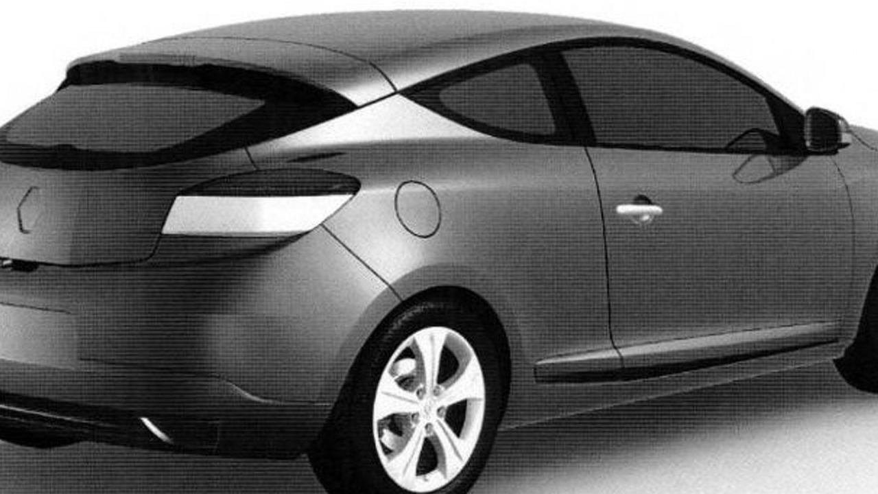 Renault Megane Coupe Trademark Office Image