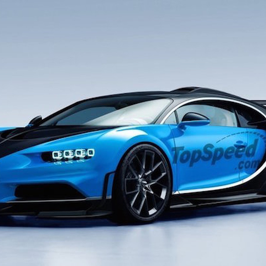 This is What A Bugatti Chiron Super Sport Might Look Like