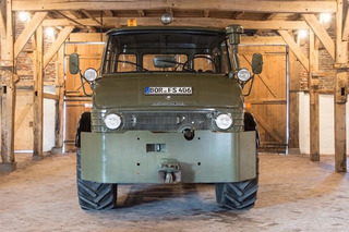 Buy This Luftwaffe Mercedes-Benz Unimog, Go Wherever You Darn Please